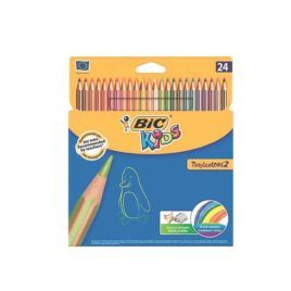 Lápices Tropicolor BIC Kids 24 colores