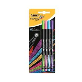 Rotulador BIC Intensity fine 4 colores