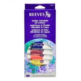 Óleos Reeves surtido 12 colores 10 ml