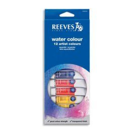 Surtido Acuarelas 12 colores Reeves 10 ml