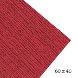 Goma Eva toalla color Rojo 60x40 2mm