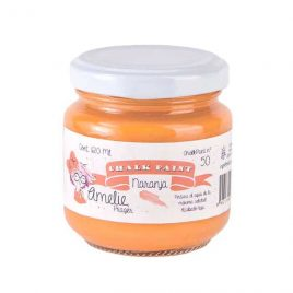 Chalk Paint Naranja Amelie 120ml