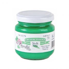 Chalk Paint Verde Hoja Amelie 120ml