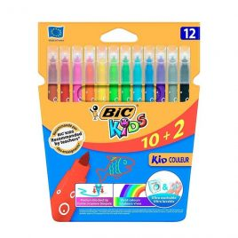 Rotuladores BIC Kids 12 colores