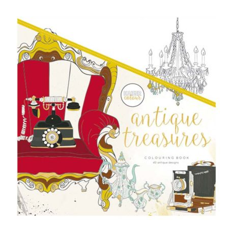 Antique Treasures 40 hojas para colorear