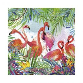 Servilleta Decoupage Flamencos