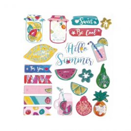 Set Autoadhesivos Sweet Summer 3D