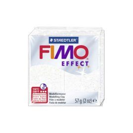 Fimo Effect nº052 Blanco Purpurina 57gr
