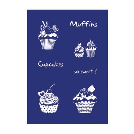 Stencil My Style Cupcakes A5