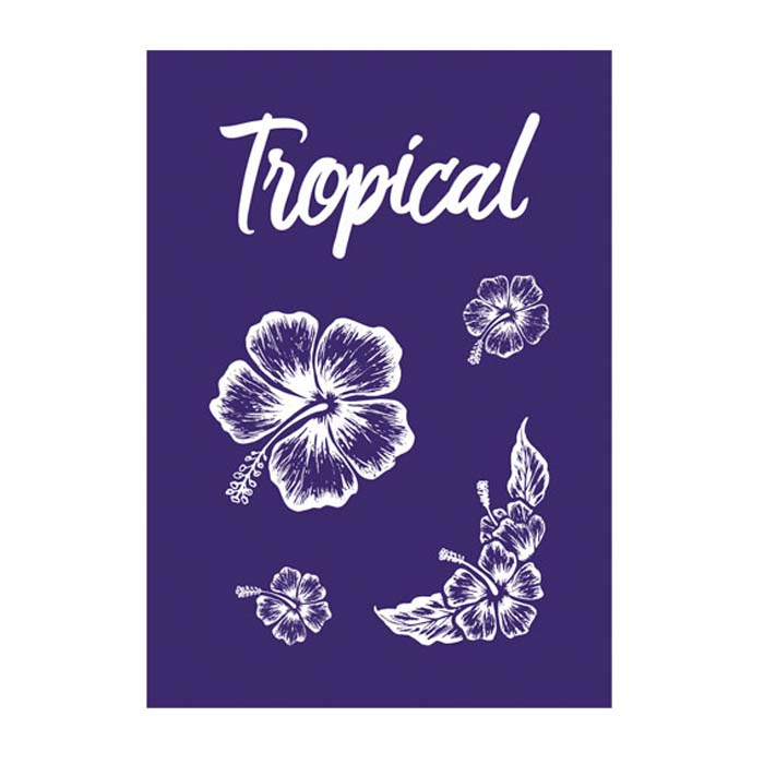 Stencil My Style Tropical A5