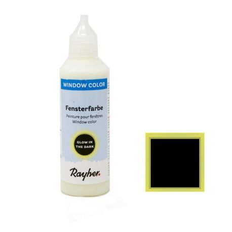 Window Color Easy Paint Brilla en la Oscuridad 80ml