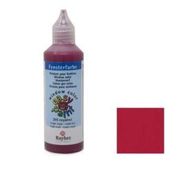 Window Color Easy Paint Rojo Royal 80ml