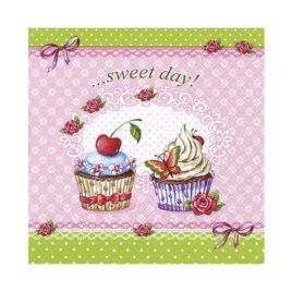 Servilleta Decoupage Sweet Day