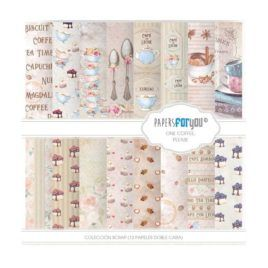 Papel Scrap 30x30 One Coffee Papers for You