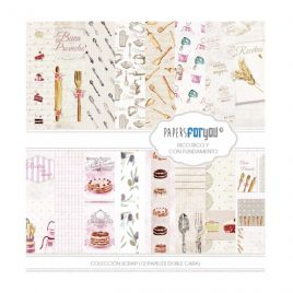 Papel Scrap 30x30 Rico Rico Papers for You