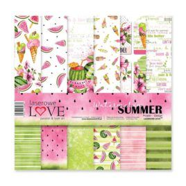 Papel Scrap 30x30 Watermelon Summer