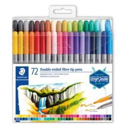 Rotulador Doble Punta Staedtler 72 colores