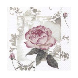 Servilleta Decoupage Vintage Rose