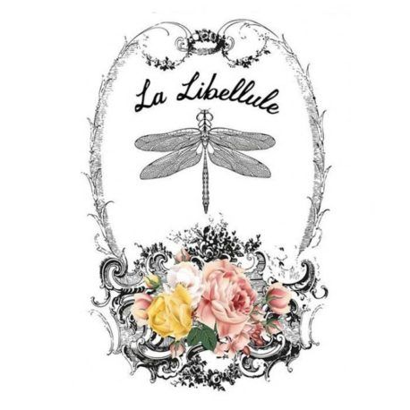Transfer Home Decor 25x35cm La Libellule