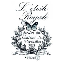 Transfer Home Decor 25x35cm Letoile Royale