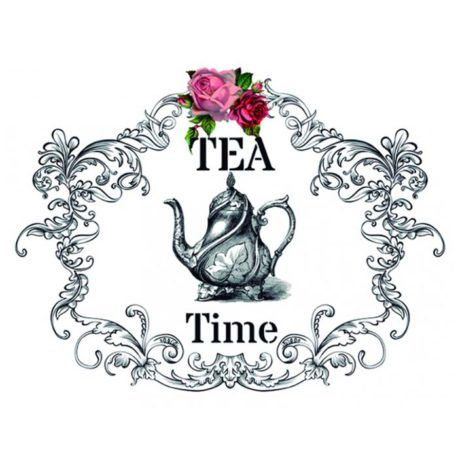 Transfer Home Decor 25x35cm Tea Time
