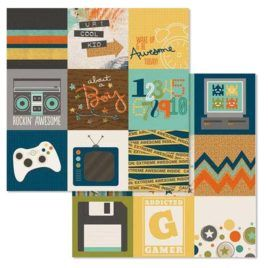 Papel Scrap 6513 Elements 30x30 Simple Stories