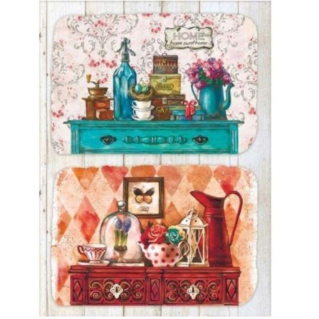 Papel de Arroz Home Sweet Home 30x41