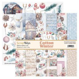 Papel Scrap 30×30 Cotton Winter