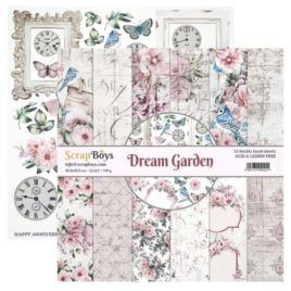 Papel Scrap 30x30 Dream Garden