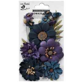 Flores de Papel Heleen Purple Passion