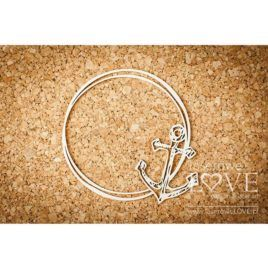 Chipboard Anchor Ocean Adventure