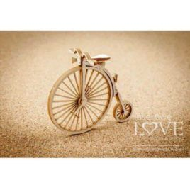 Chipboard Bicycle 3D