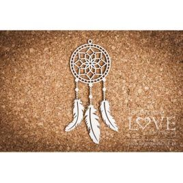 Chipboard Dreamcatcher Apanaczi