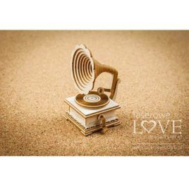 Chipboard Gramophone 3D