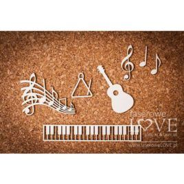 Chipboard Music Back to School