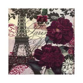 Servilleta Decoupage Art Parisienne