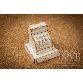 Chipboard Cash Register 3D