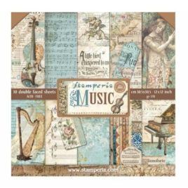 Papel Scrap 30x30 Music Stamperia