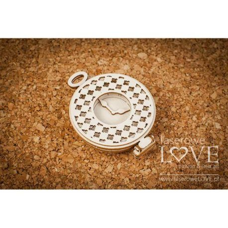 Chipboard Pocket Watch 3D