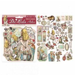 Die Cuts Alice Stamperia