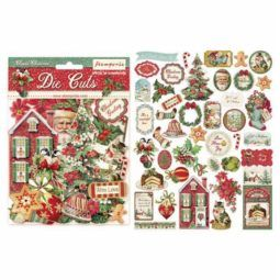 Die Cuts Classic Christmas Stamperia