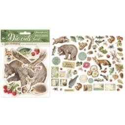 Die Cuts Forest Stamperia