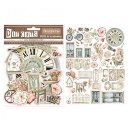 Die Cuts House of Roses Stamperia