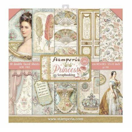 Papel Scrap 30x30 Princess Stamperia