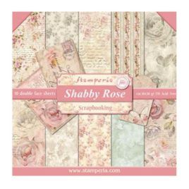 Papel Scrap 30x30 Shabby Rose Stamperia