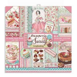 Papel Scrap 30x30 Sweety Stamperia