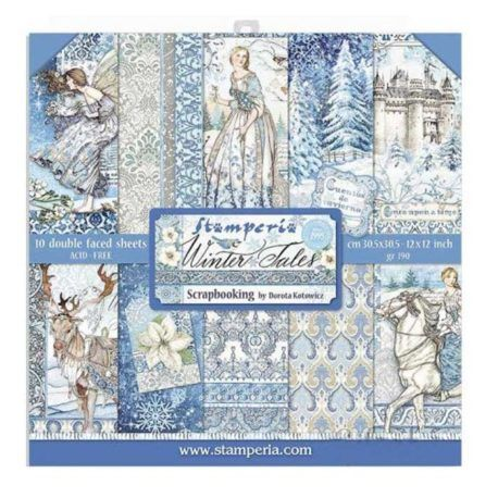 Papel Scrap 30x30 Winter Tales Stamperia