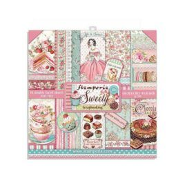 Papel Scrap Sweety 20x20 Stamperia