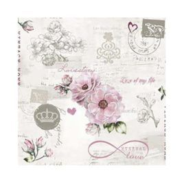Servilleta Decoupage Eternal Love