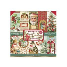 Papel Scrap Classic Christmas 20x20 Stamperia